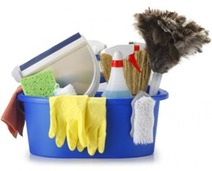 Sring Cleaning Supplies for Home Interior